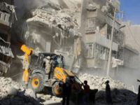 Residential areas of Aleppo have borne the brunt of government air strikes.--Reuters photo