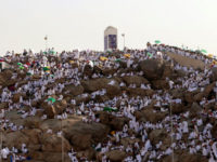 Muslim pilgrims gather on Mount Mercy on the plains of Arafat during the annual haj pilgrimage, outside the holy city of Mecca, Saudi Arabia September 11, 2016. — Reuters photo